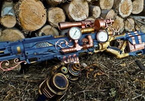 Steampunk Nerf Gun of the Day