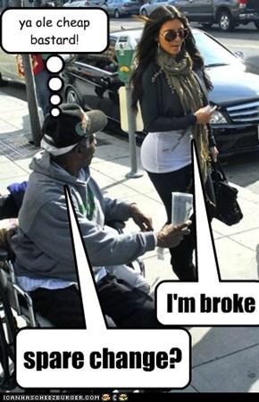 spare change?