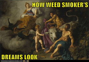 HOW WEED SMOKER'S  DREAMS LOOK