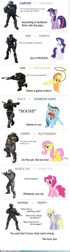 Pony Reach - Mane7 ?!
