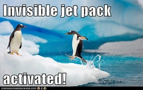 No More Swimming! I'm Taking Flight!