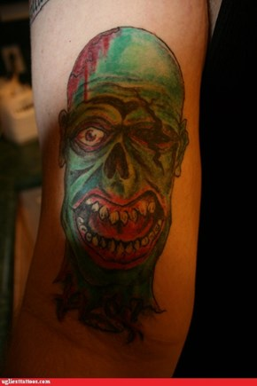 Zombie Tats, way cooler then naked chick tats!