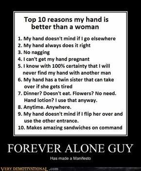 FOREVER ALONE GUY