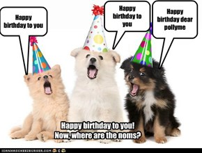 Happy Birthday pollyme!