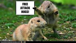 FREE  ATTACK HUGS!