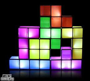 Tetris Lamp WIN