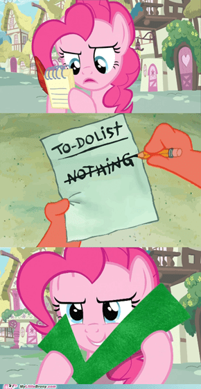 Pinkies daily routine