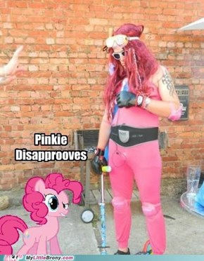 Pinkie Disaprooves