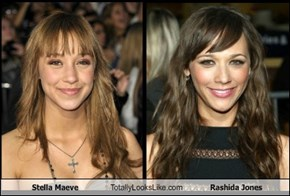 Stella Maeve Totally Looks Like Rashida Jones
