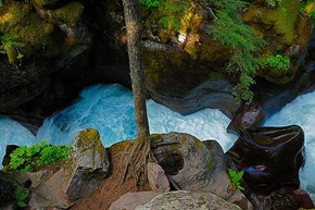 Avalanche Gorge, Red Rock Point, Montana
