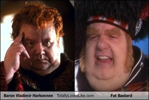 Baron Vladimir Harkonnen totally looks like Fat Bastard
