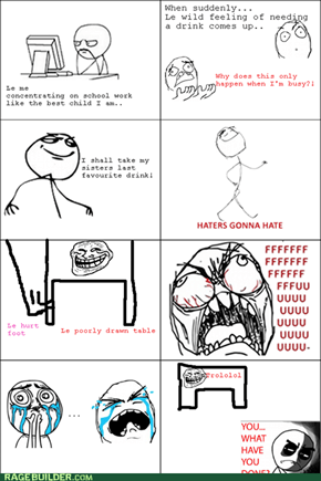 Le Table Rage