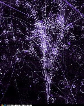 Trails of Subatomic Particles