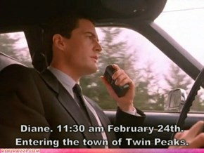 "Happy ""Twin Peaks"" Day!"