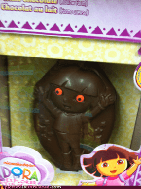 Chocolate Dora WANTS YOUR SOUL