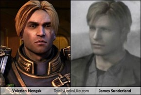 Emperor Valerian Mengsk from Starcraft II totally looks like James Sunderland from Silent Hill 2.