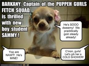 KKPS Gurl Puppehs go cwazee fur SAMMY!