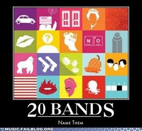20 Bands Challenge