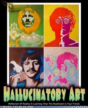 Hallucinatory Art
