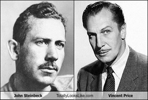 John Steinbeck Totally Looks Like Vincent Price