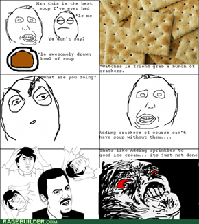 No Crackers!