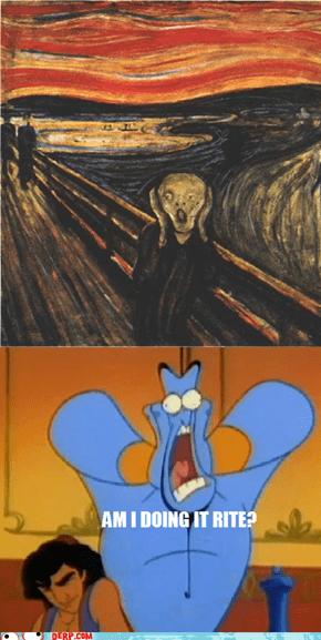 Aladderps Genie Does teh Scrurrrrrrrm
