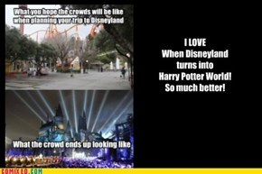 Disneyland has evolved!