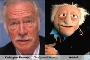 Christopher Plummer Totally Looks Like Waldorf