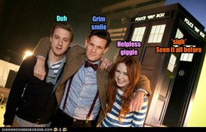 Group photos with Tardis.  They never come out right!