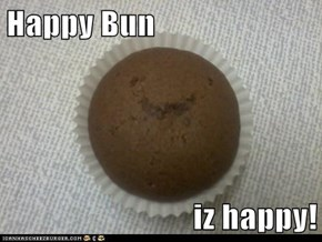 Happy Bun  iz happy!
