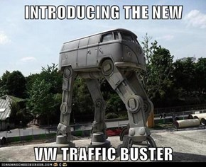 INTRODUCING THE NEW  VW TRAFFIC BUSTER