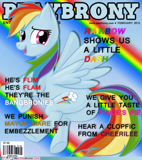 """Playbrony""February 2012 edition"