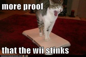more proof  that the wii stinks