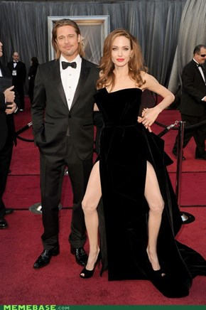 Jolie, Your Gams... Woof!