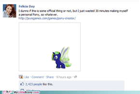 Felicia Day is a brony!