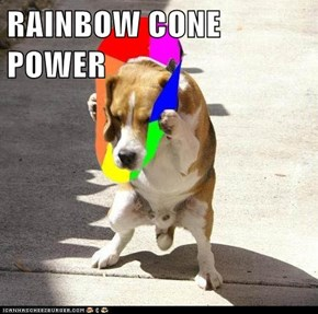 RAINBOW CONE POWER