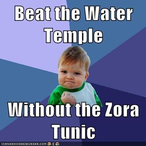 Beat the Water Temple  Without the Zora Tunic