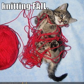 knitting FAIL.
