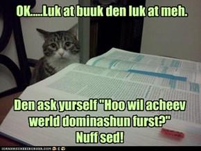 Well sed kitteh!