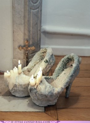 Worship in the Temple of Shoes