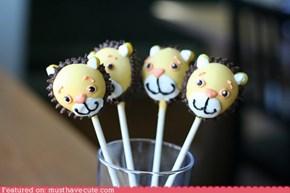 Epicute: Brave Lion Cake Pops