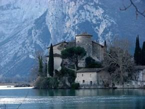 Castello Toblino, Sarche Trento, Italy