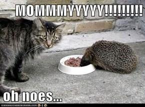 MOMMMYYYYY!!!!!!!!!  oh noes...