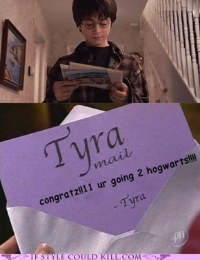 Saturday Night Tyra: Thanks Tyra!