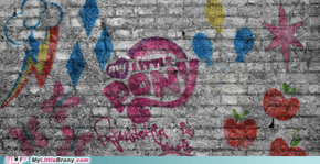 MLP Graffiti Background