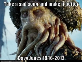 Take a sad song and make it better  Davy Jones 1946-2012