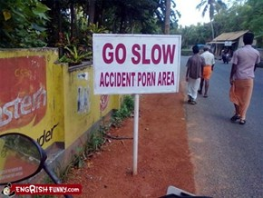 Engrish Funny: I Think It's Probably Best Not To Enter