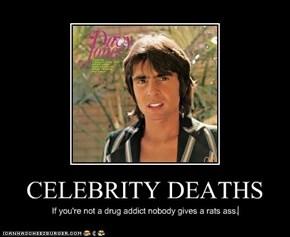CELEBRITY DEATHS