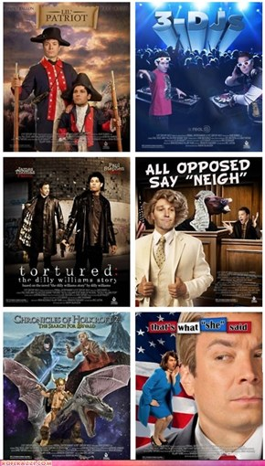 Jimmy Fallon And Paul Rudd's Fake Movies