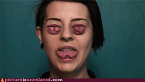 Tongue eyed